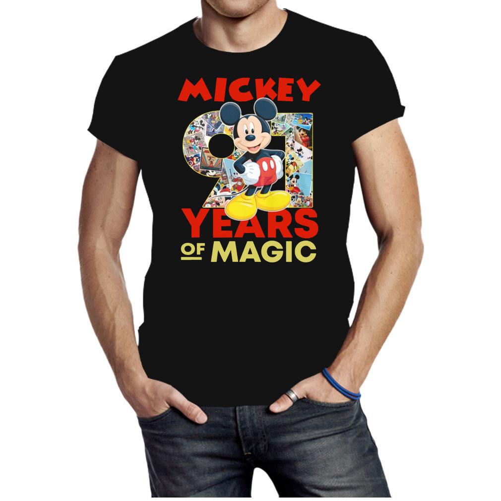 Mickey 91 years of magic shirt