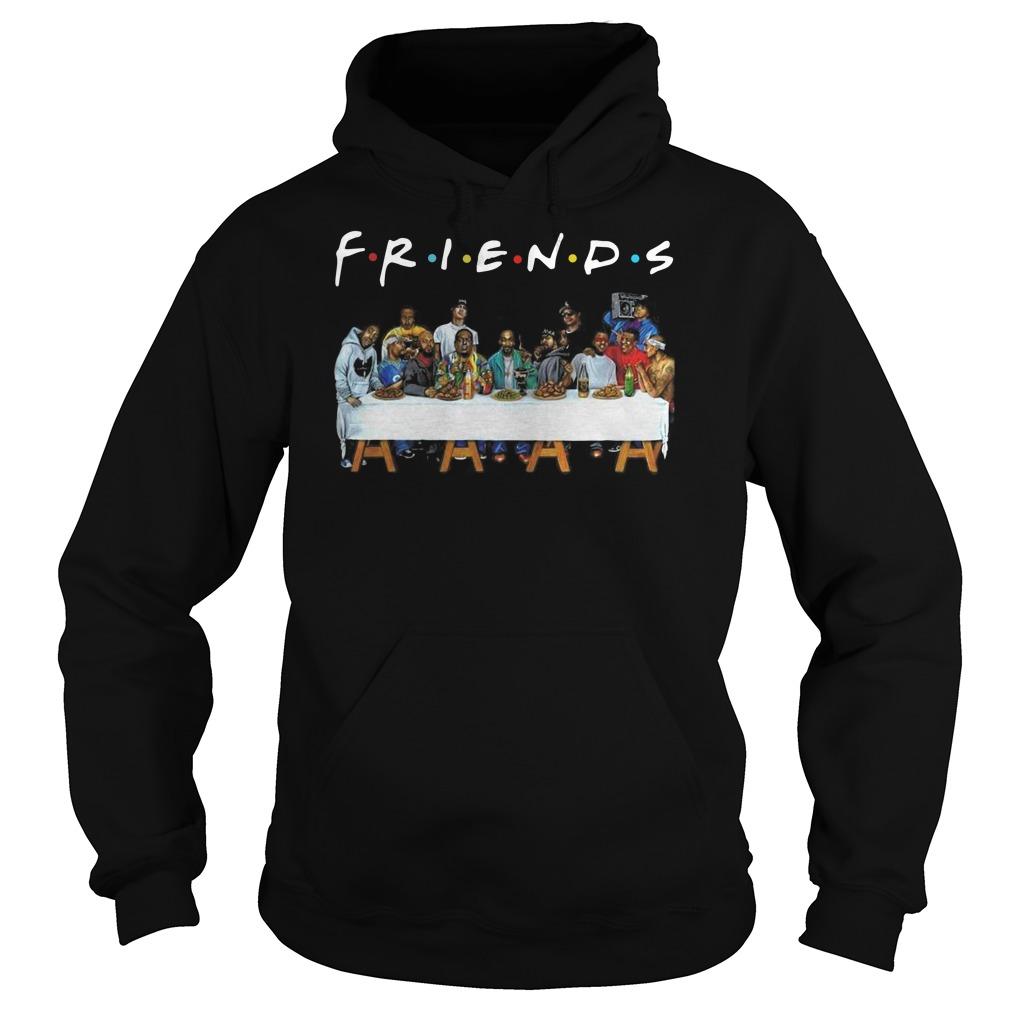 American rappers FRIENDS TV show Hoodie
