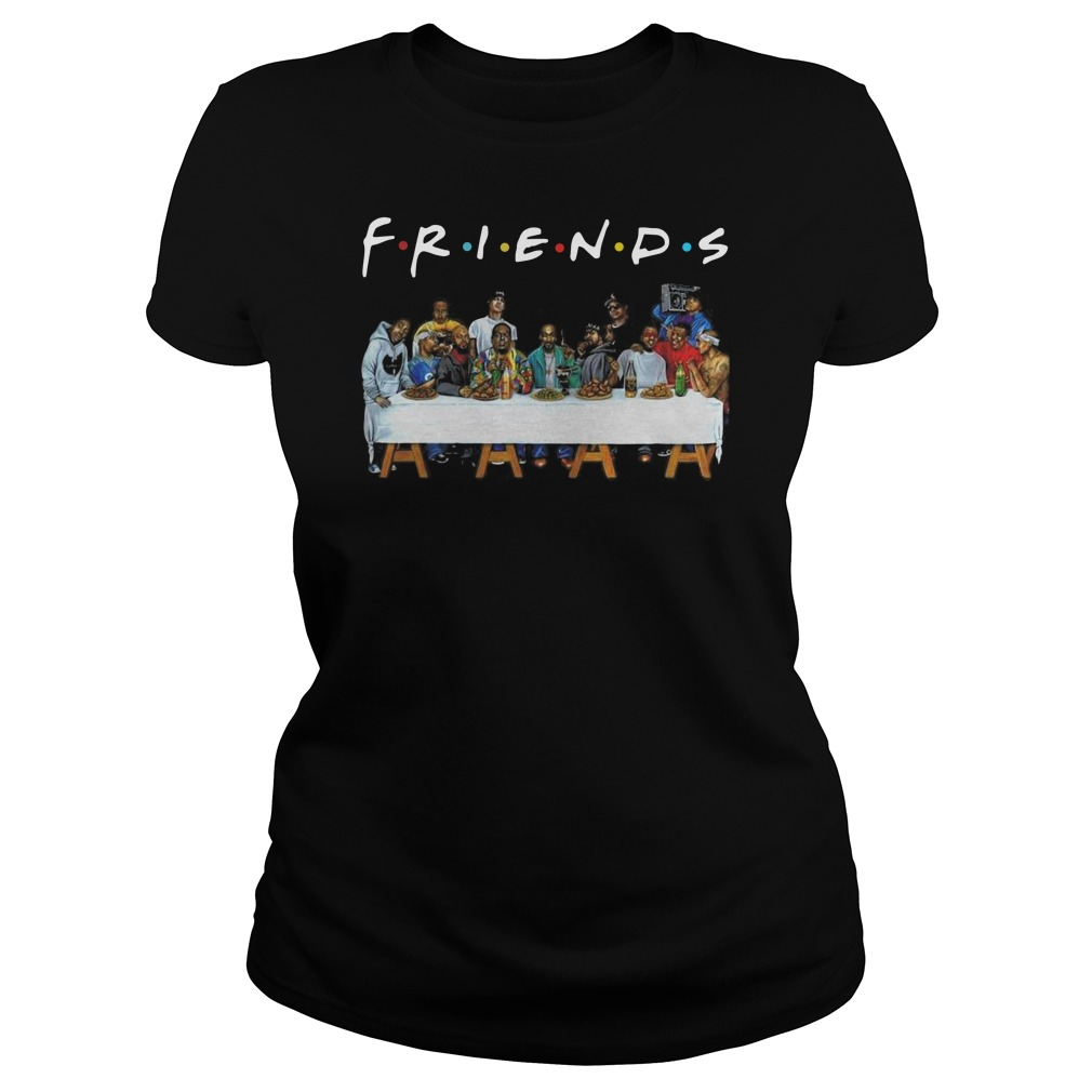 American rappers FRIENDS TV show Ladies t-shirt