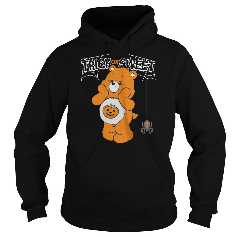 Care bears trick or sweet bear Halloween Hoodie