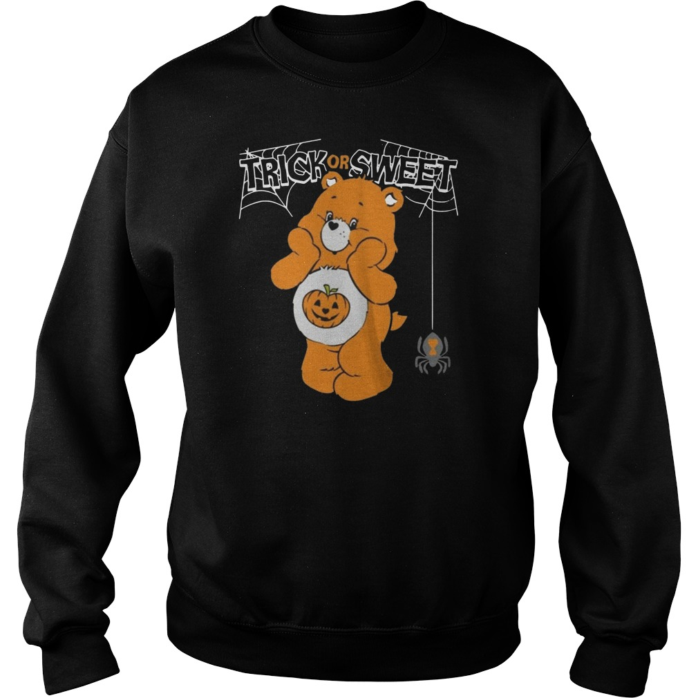 Care bears trick or sweet bear Halloween Sweater