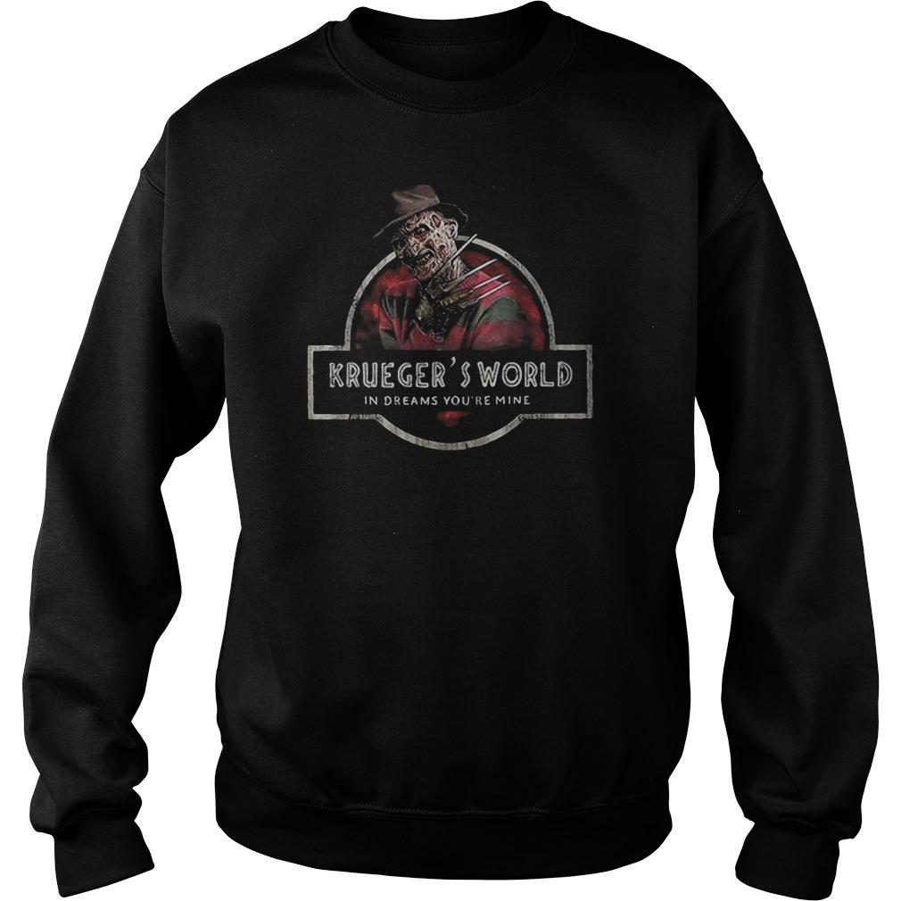 Freddy krueger's world in dreams you're mine Halloween Sweater