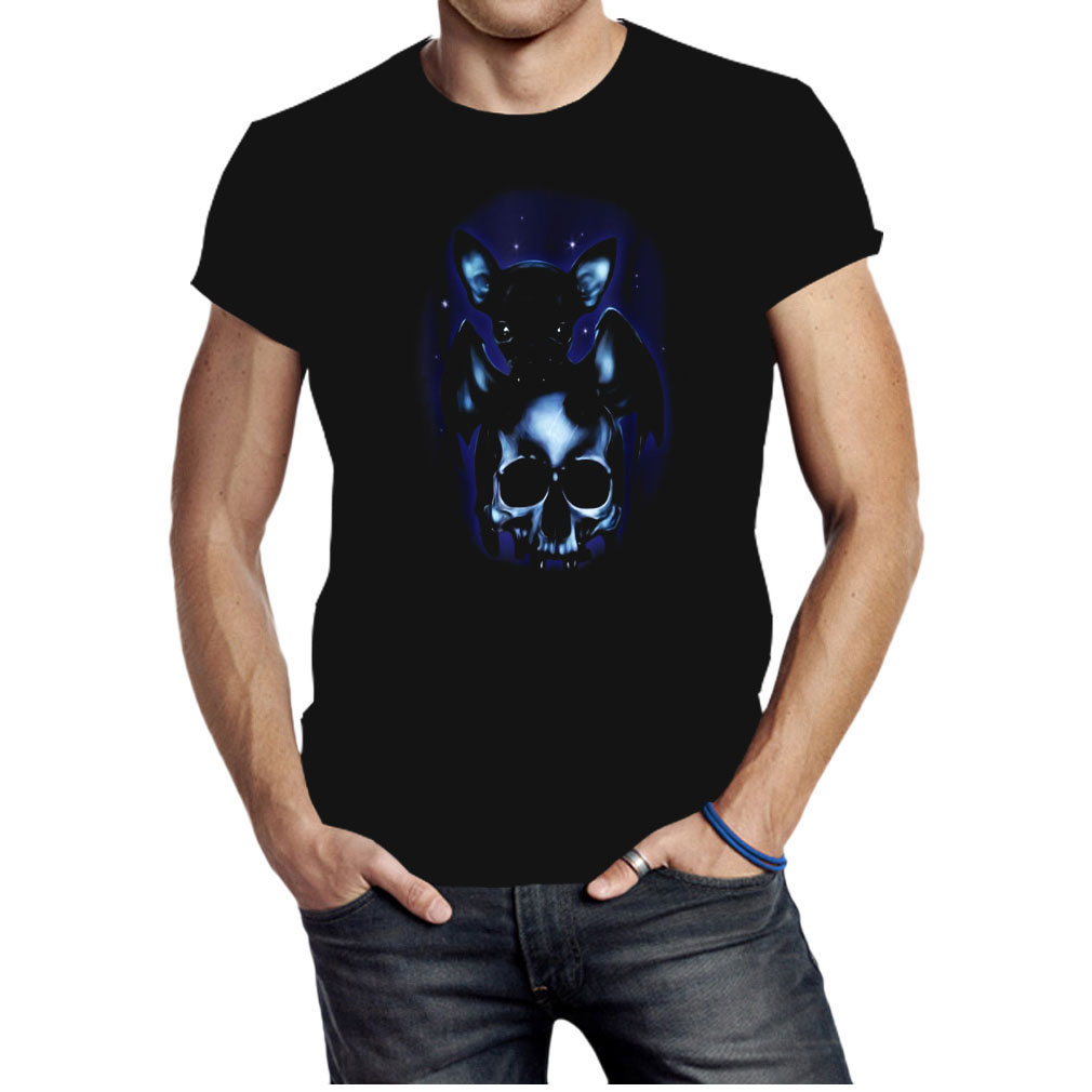 Halloween is coming dog chihuahua bat skull shirt