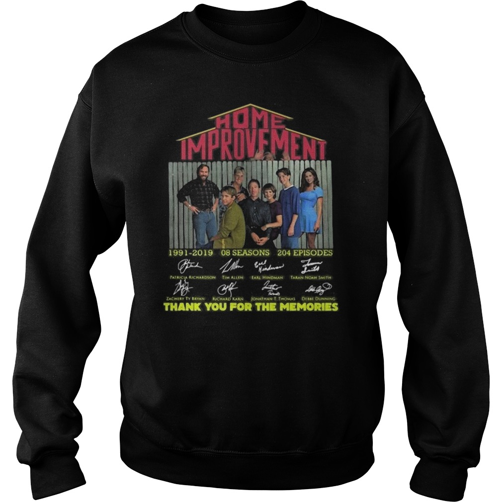 Home Improvement thank you for the memories Sweater