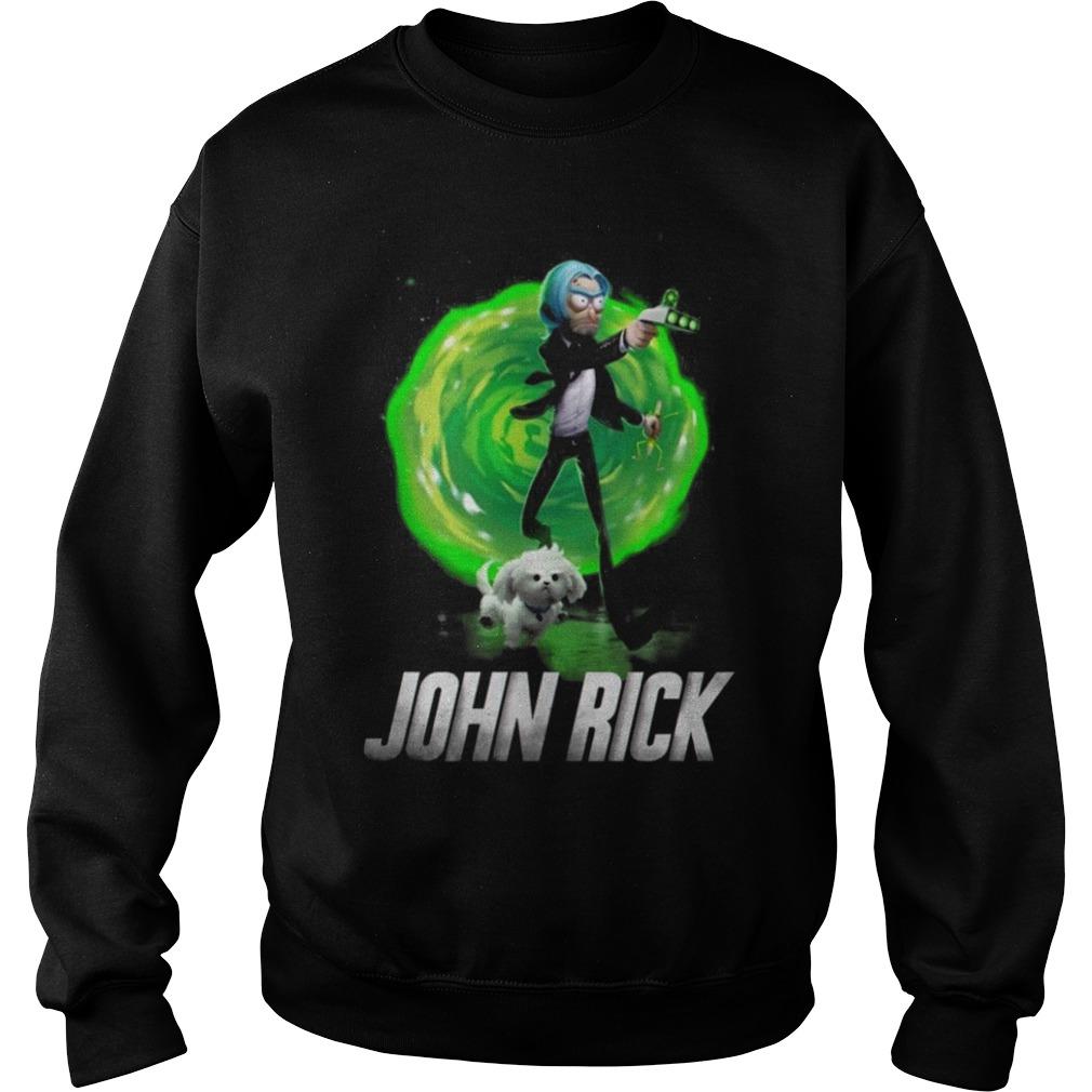 John Wick Rick and Morty Sweater