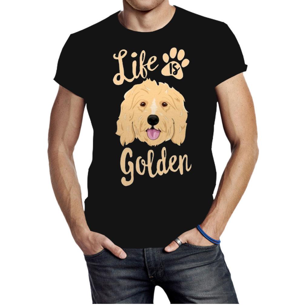 Life is Golden Retriever shirt