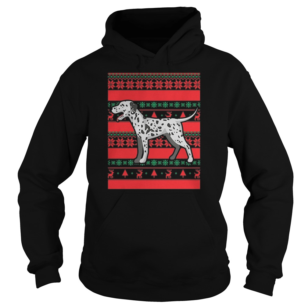 Official Dalmatian Ugly Christmas Hoodie