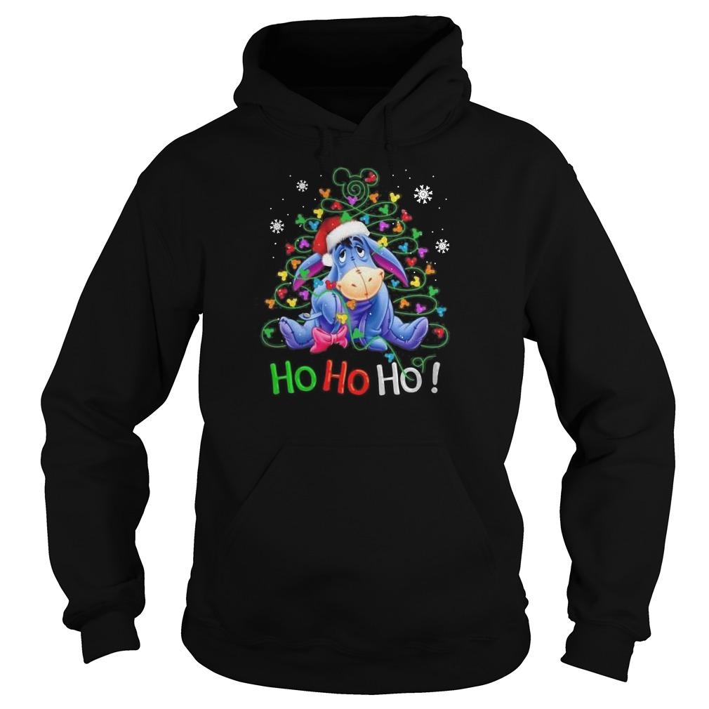 Official Eeyore Ho ho ho Christmas Hoodie