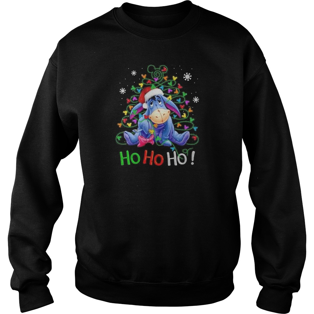 Official Eeyore Ho ho ho Christmas Sweater