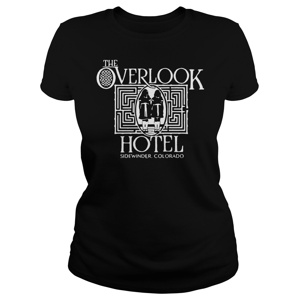 The overlook hotel sidewinder colorado Ladies t-shirt