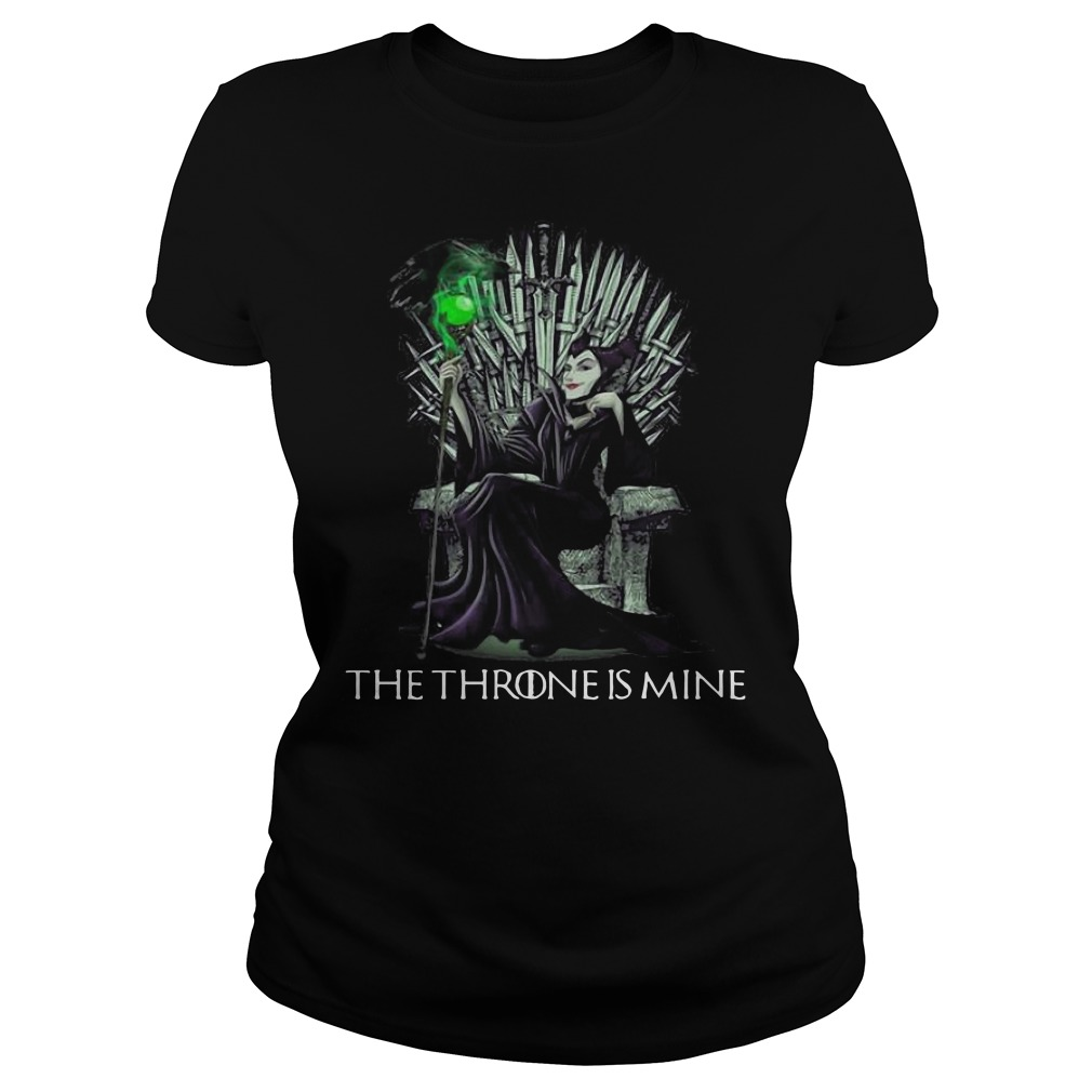 The throne is mine Ladies t-shirt
