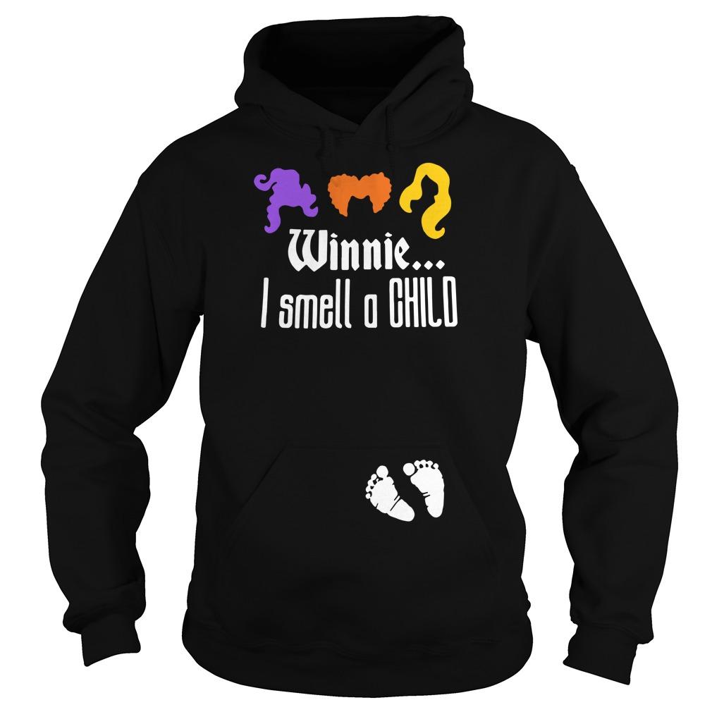 Winnie I smell a child Hoodie