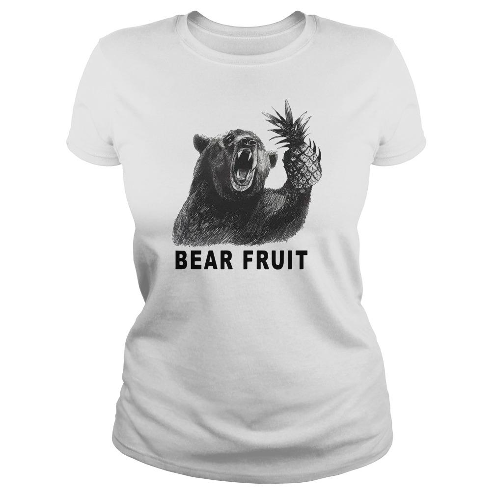 Bear fruit Ladies t-shirt