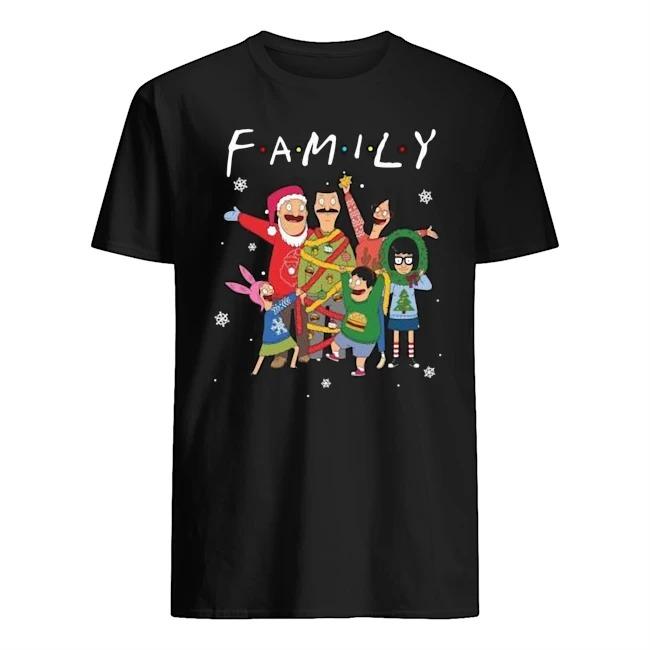 Bob's Burgers family Merry Christmas Guys t-shirt