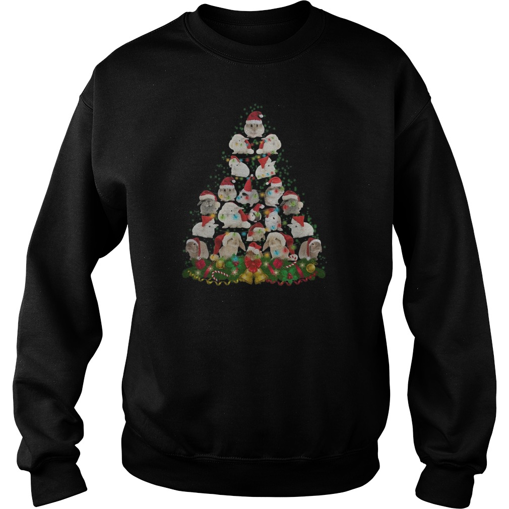 Bunny Christmas tree Sweater