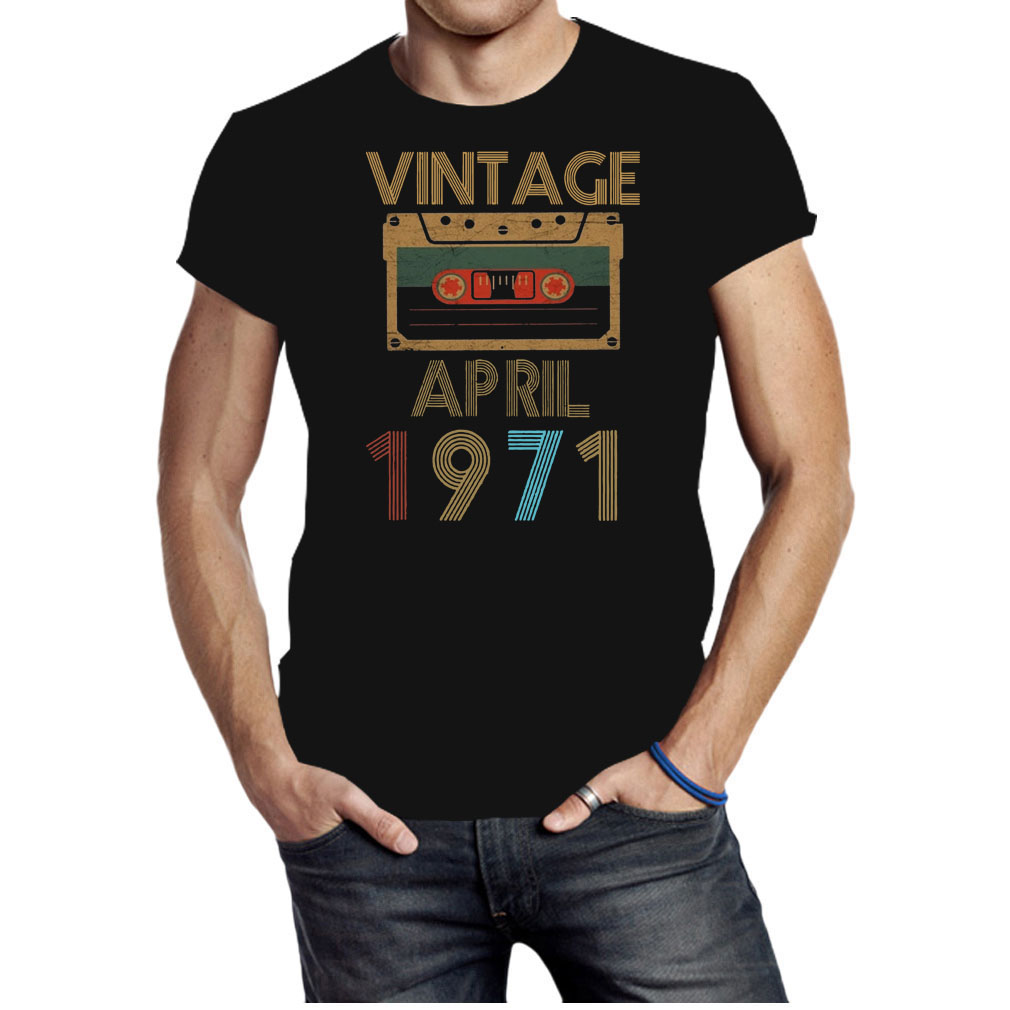 Cassette Vintage April 1971 shirt