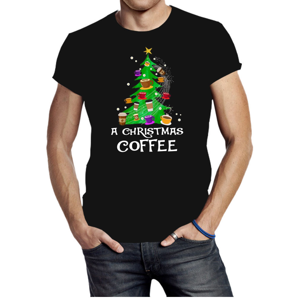 A christmas coffee tree Christmas shirt
