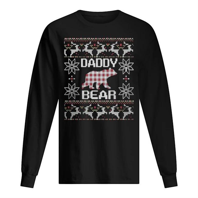 Daddy bear matching family season Ugly Christmas sweater