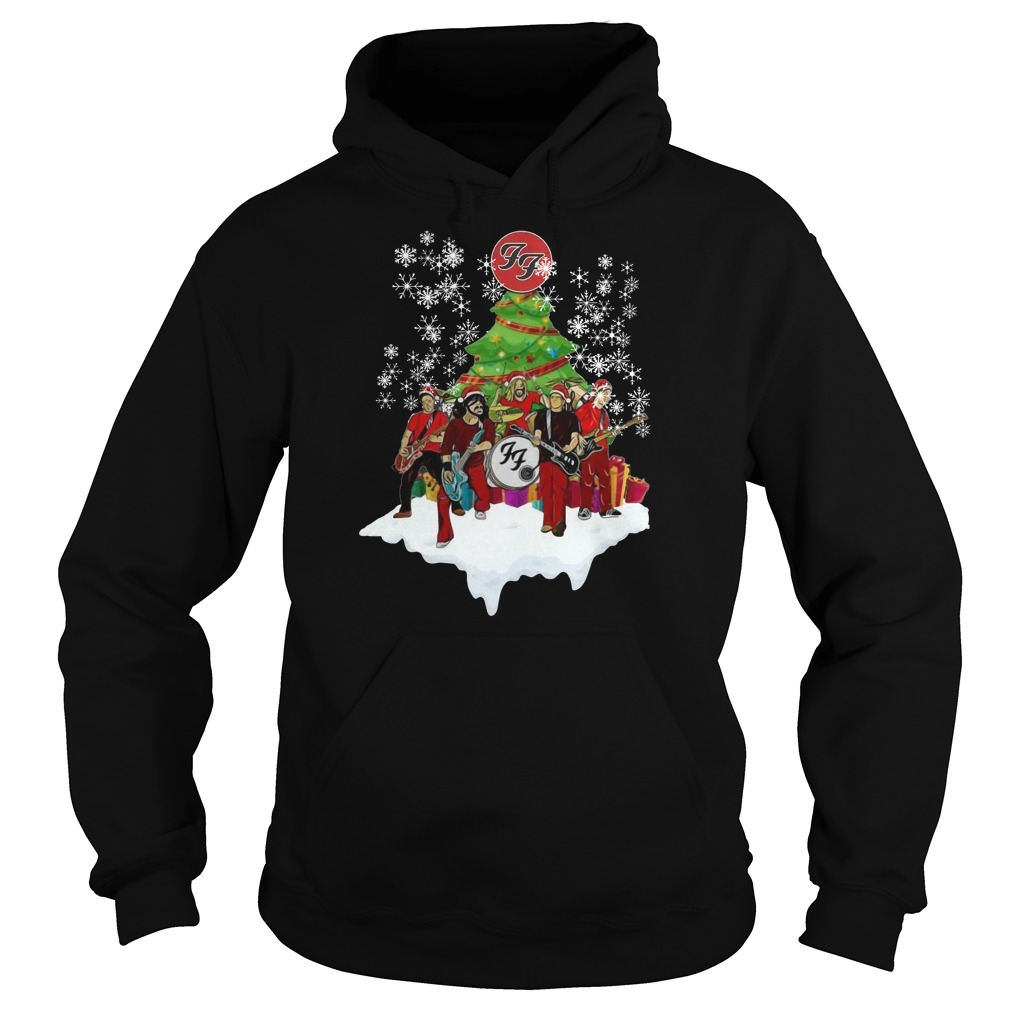 The FF band music Christmas hoodie