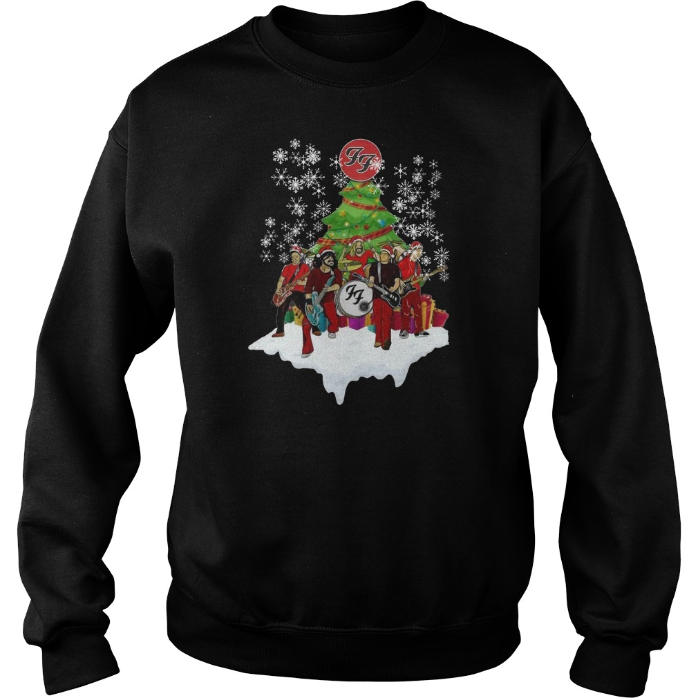 The FF band music Christmas Sweater
