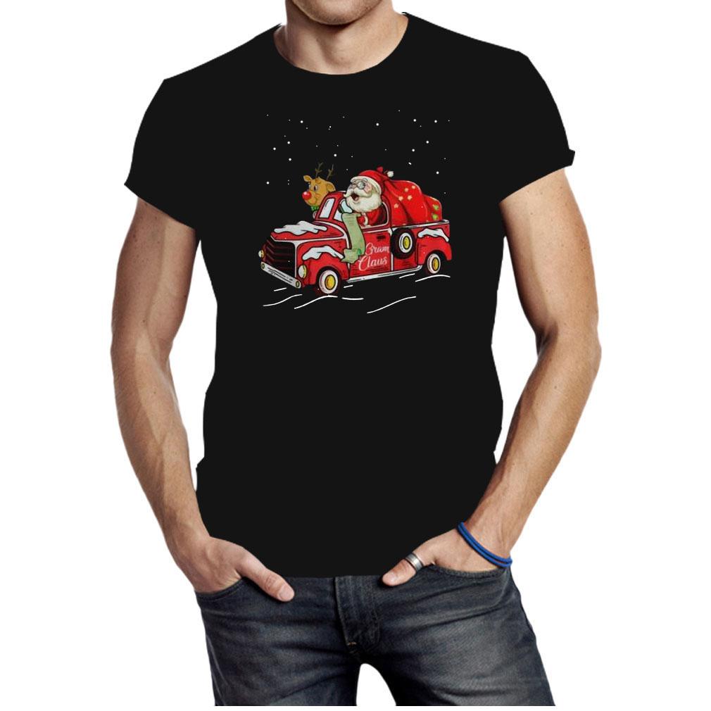 Gram claus truck grandma Christmas shirt
