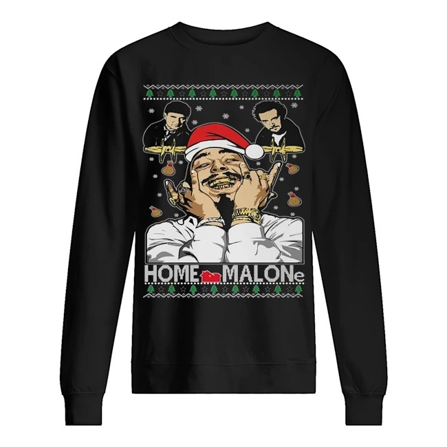 Home malone Ugly Christmas sweater