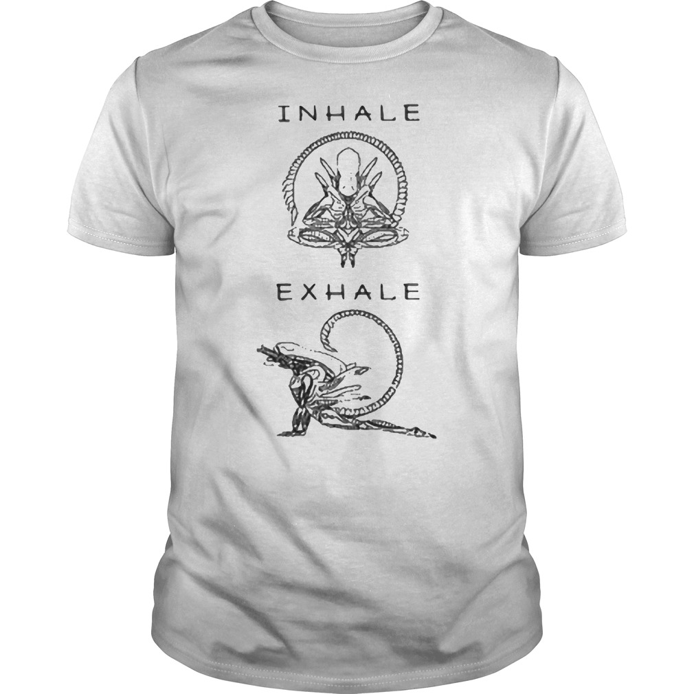 Inhale exhale Guys t-shirt
