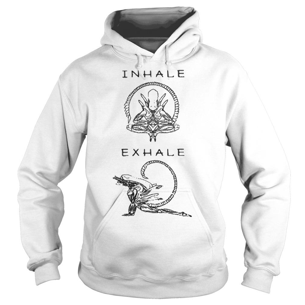 Inhale exhale Hoodie