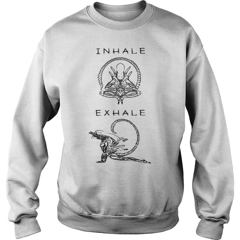 Inhale exhale Sweater