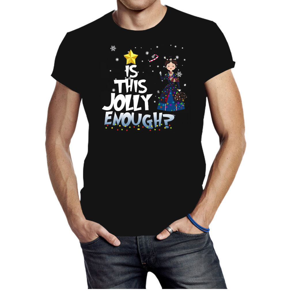 Mary Poppins is this jolly enough Christmas shirt