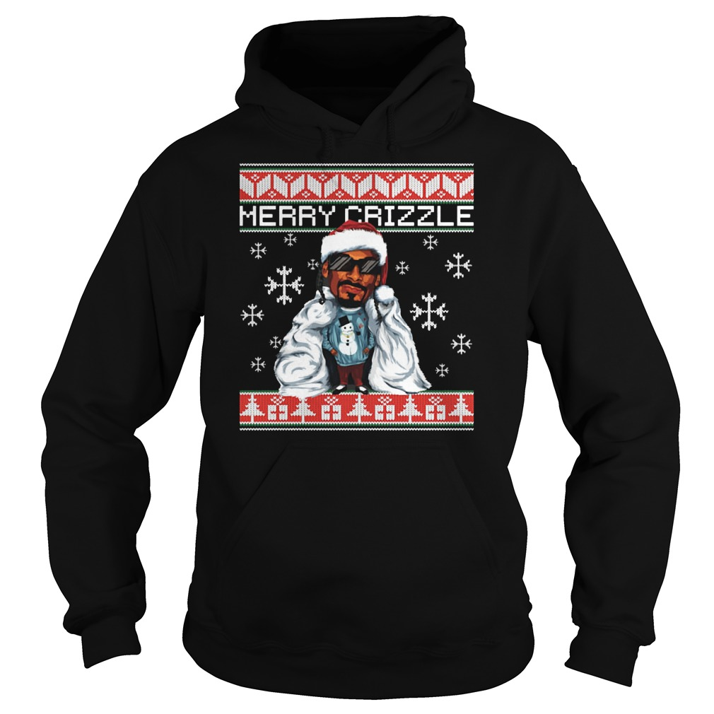 Merry crizzle ugly christmas Hoodie