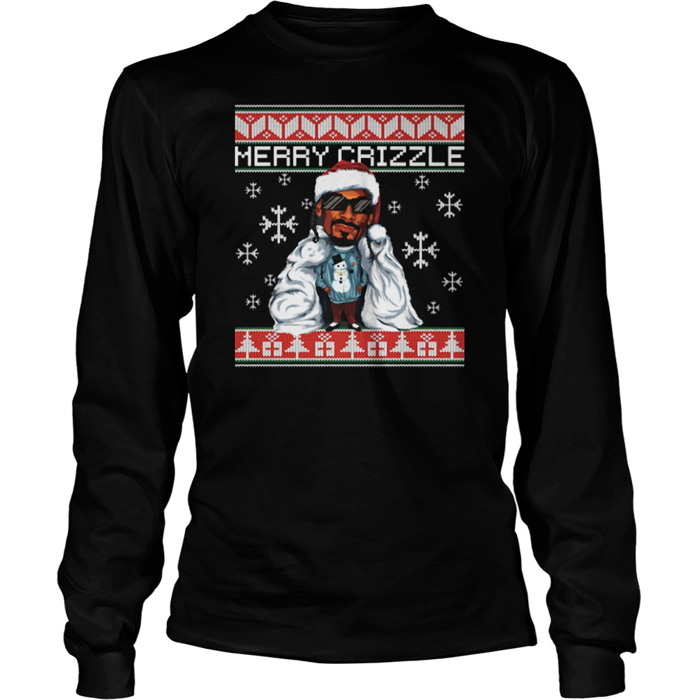 Merry crizzle ugly christmas Long sleeve