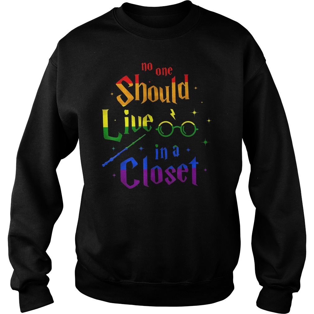 No one should live in a closet Sweater