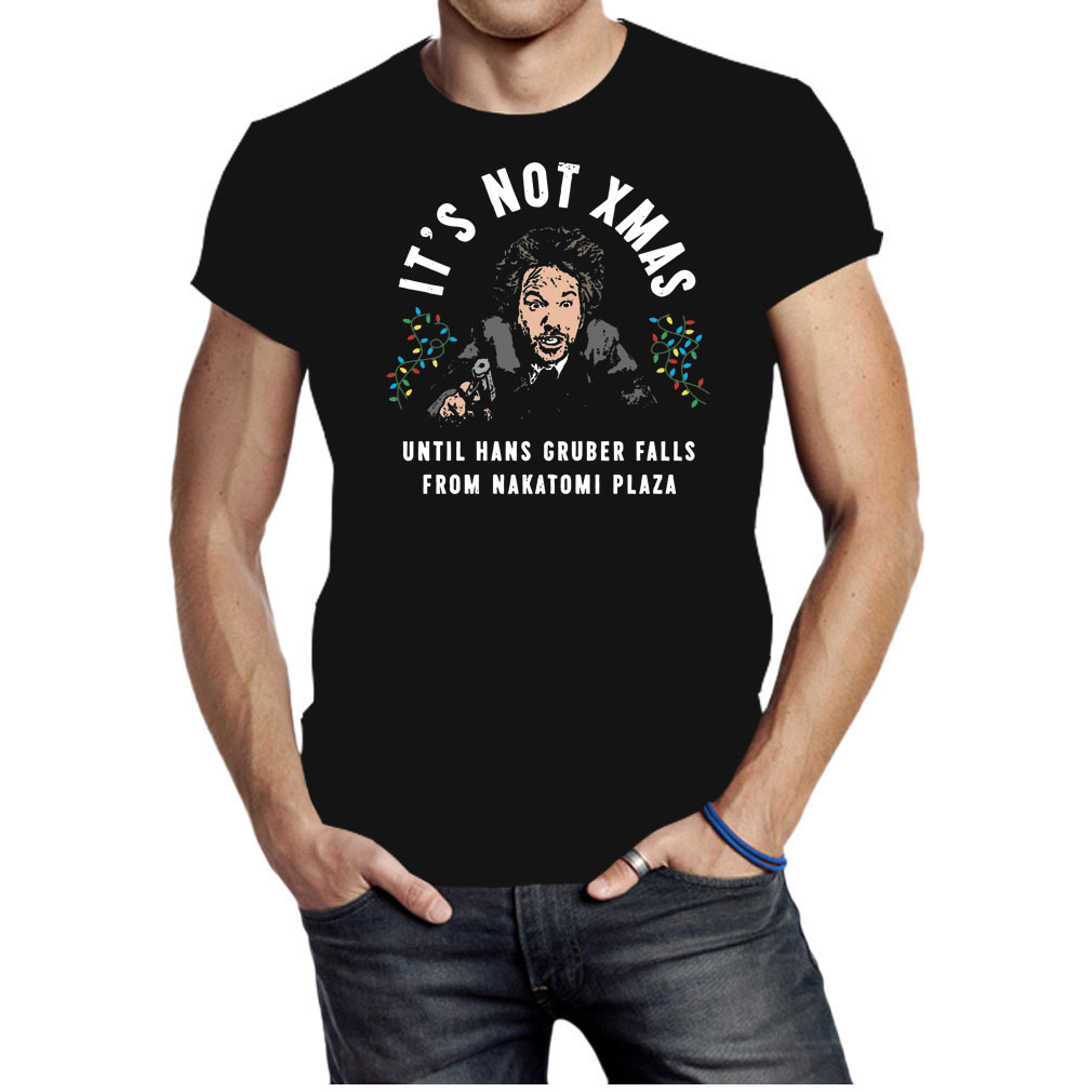 It's not Xmas until hans gruber falls from nakatomi plaza shirt