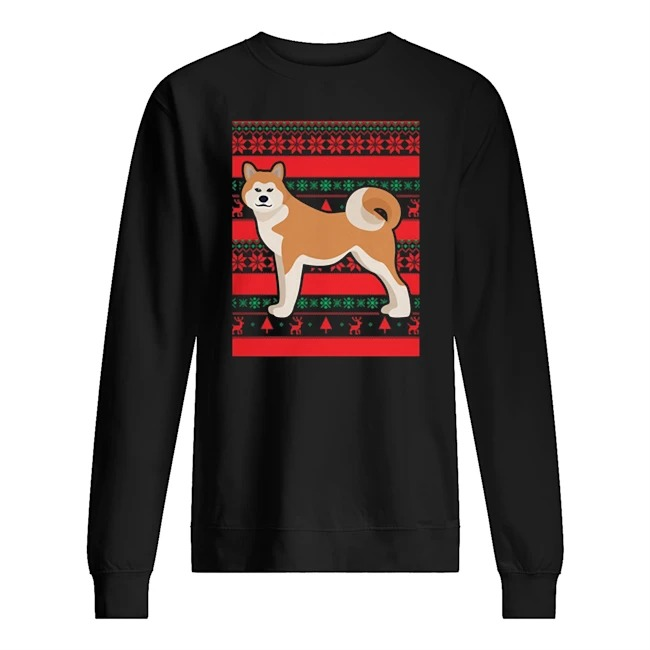 Official Akita Ugly Christmas Sweater