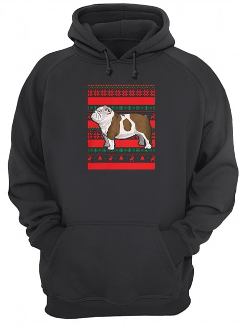Official Bulldog Ugly Christmas Hoodie