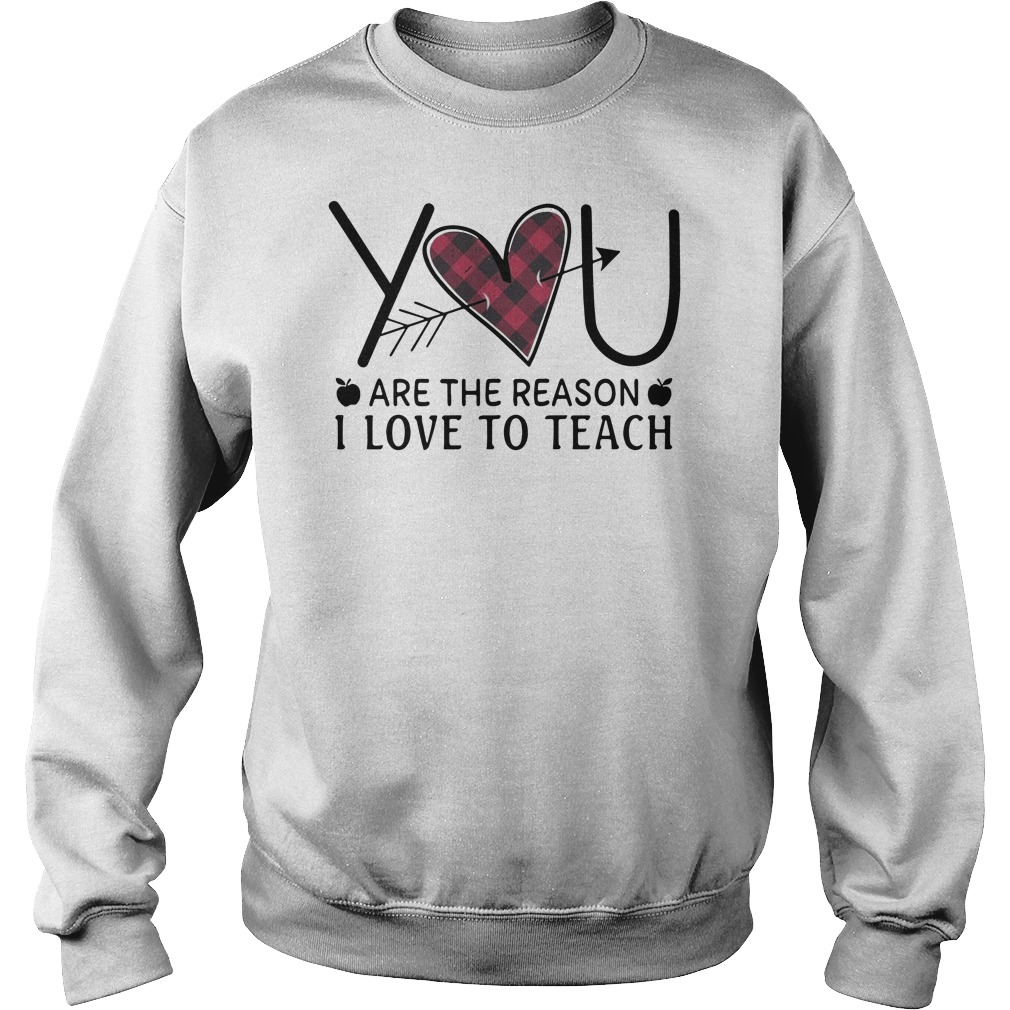 You are the reason I love to teach Sweater