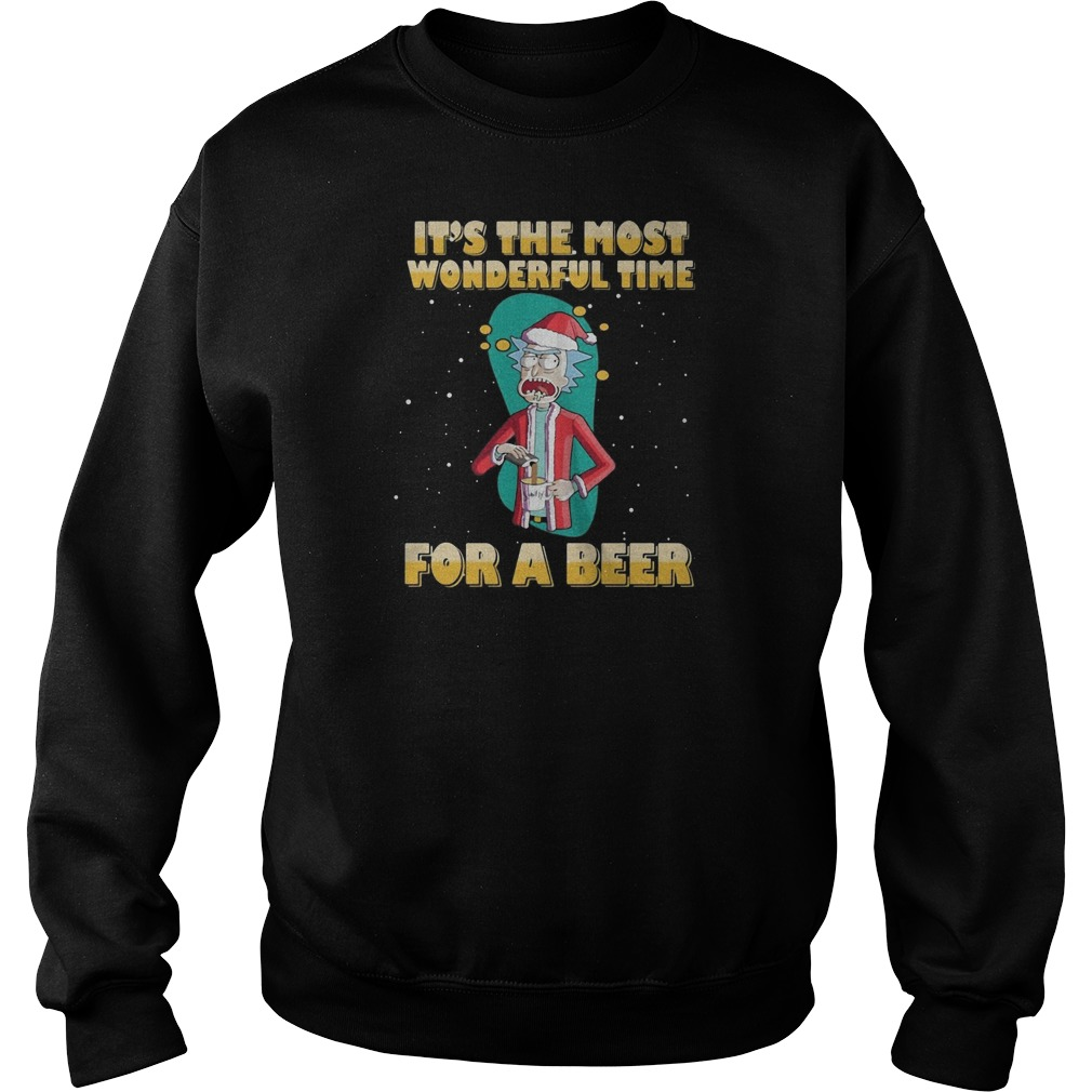 Rick Sanchez It's the most wonderful time for a beer Christmas Sweater