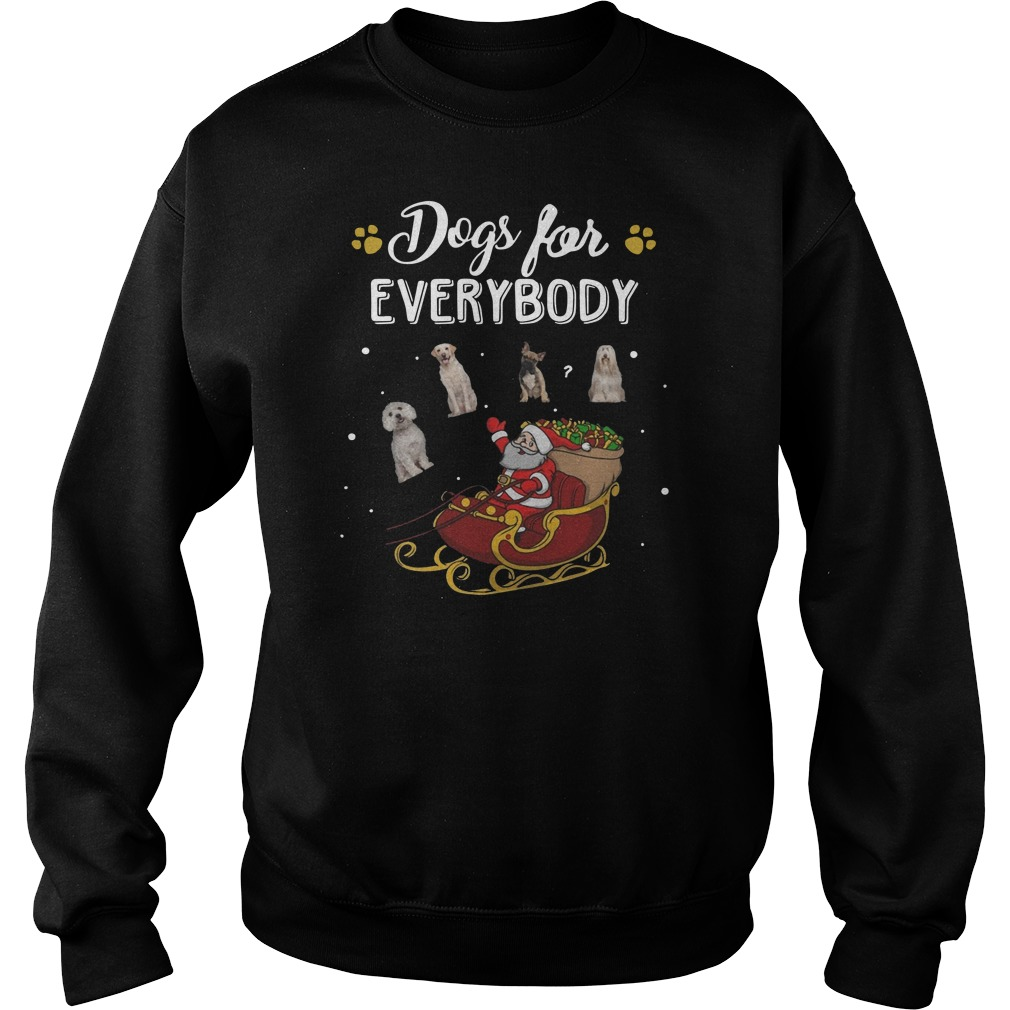 Santa Claus Dogs for everybody Christmas Sweater