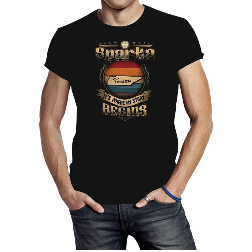 Sparta Tennessee it's where my story begins shirt