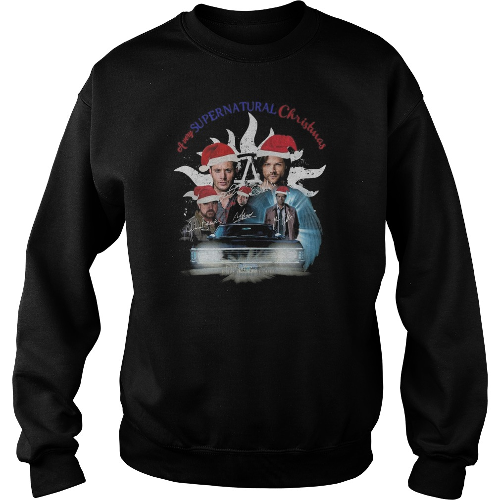 A very Supernatural Christmas Sweater