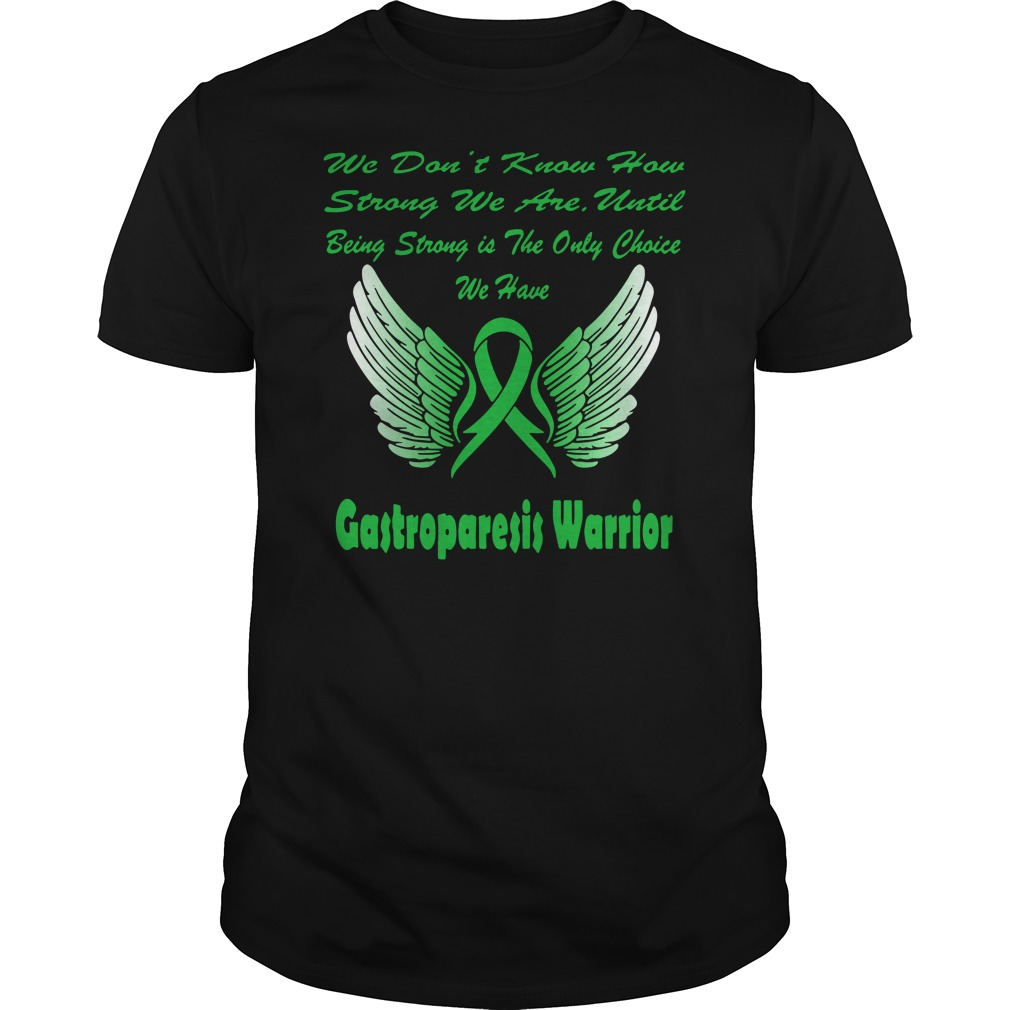 Wing Warrior gastroparesis awareness Guys t-shirt