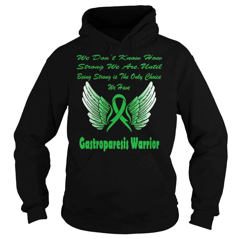 Wing Warrior gastroparesis awareness Hoodie