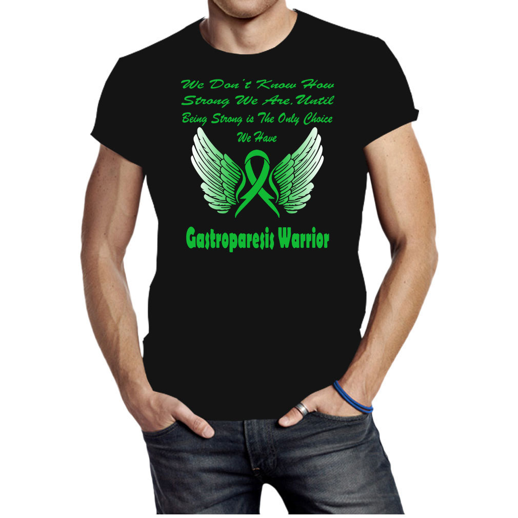 Wing Warrior gastroparesis awareness shirt