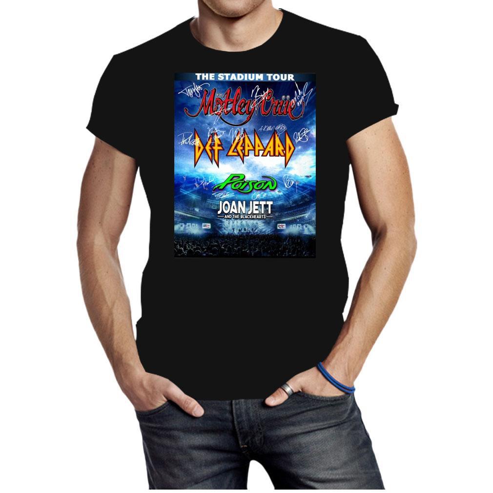 The stadium tour motley crue poison Joan Jett and the blackhearts shirt