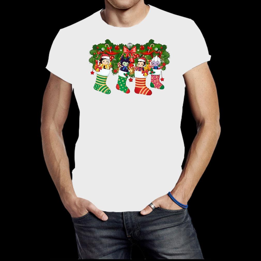 Villains In socks Christmas shirt