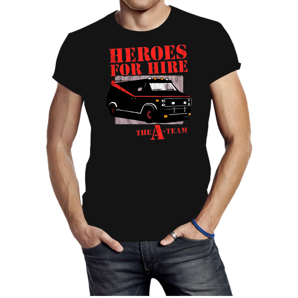 Car Heroes for hire the a team shirt