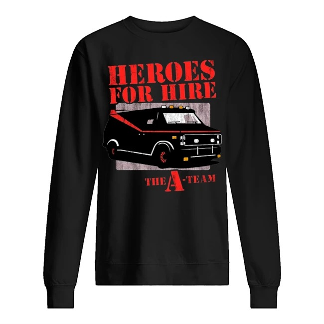 Car Heroes for hire the a team Sweater