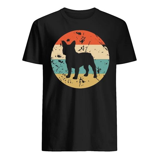 Frenchie bulldog sunset Guys t-shirt