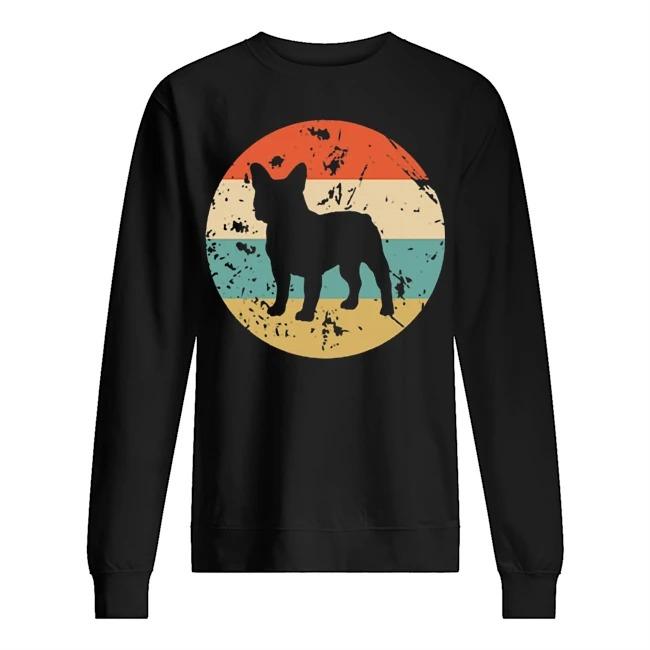 Frenchie bulldog sunset Sweater